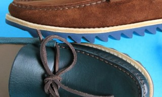 Buttero – Rippled Sole Boat Shoe