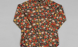 Dickie's 1922 for Th-S & Co. Rose Print Shirt