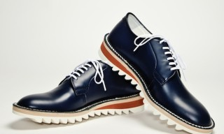 Hiroshi Tsubouchi- Shark Sole Derby Shoes