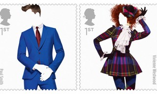 Royal Mail Great British Fashion Stamp Set
