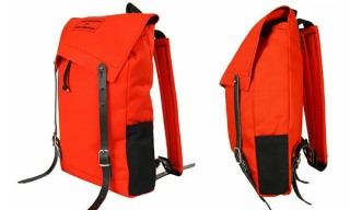 Seil Marschall for Oliver Spencer Canvas Red Mini Canoe Rucksack