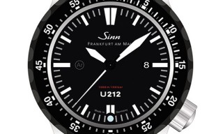 Sinn Model U212 Diving Watch – German Submarine Steel