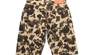 Studio D'Artisan 5 Pocket Camo Shorts