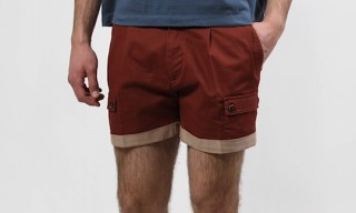 Tonello Pleated Cargo Shorts