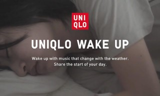 UNIQLO Wake Up App for iPhone and Android