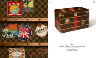 Watch | Louis Vuitton '100 Legendary Trunks' iPad App