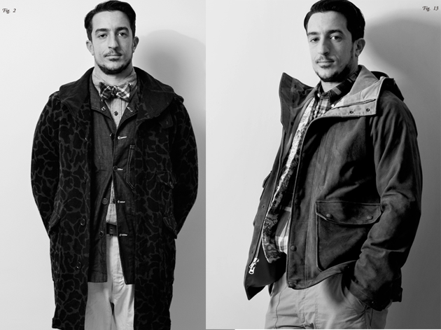 Engineered Garments - FW12 Lookbook