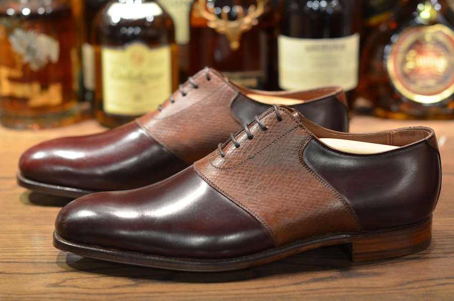 George Cleverley Saddle Shoe