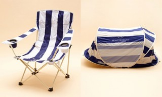 """Coleman for Beauty & Youth """"Resort Stripes"""" Beach Collection"""