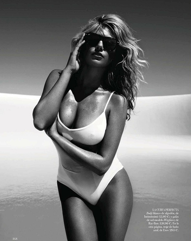 Kate Upton for Vogue Spain July 2012