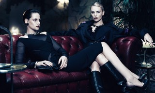 Charlize Theron and Kristen Stewart for Interview Magazine