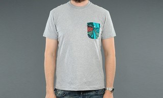 Monitaly Grey Pocket T-Shirt