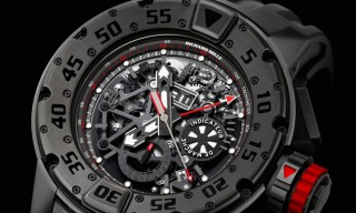 """Dark Diver"" – Richard Mille RM 032 Chronograph Dive Watch"