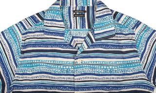 Sunny Sports Indigo Borders Catalina Shirt
