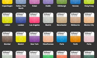 Wallpaper* City Guides by Phaidon iPhone/iTouch – 60 Cities
