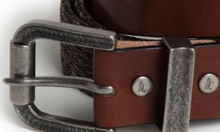 Will Leather Goods – Horsehair and Leather Belt