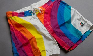 Warriors of Radness GLSA Swim Trunks