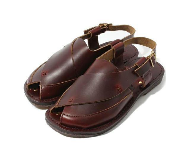 Beams Plus   Horween Leather Sandals