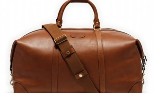 Ghurka Cavalier Holdall No.98 – Leather and Twill