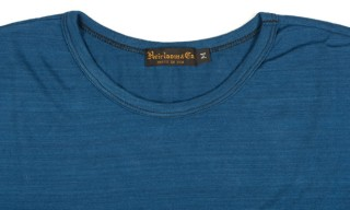 Heirloom Indigo Yarn Dyed Cotton T-Shirt