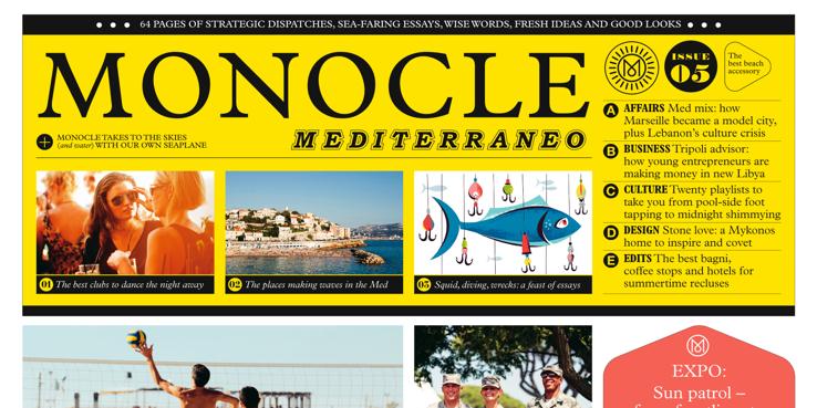 Monocle Mediterraneo 3