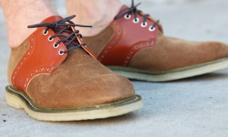 Mark McNairy – Union – Corduroy Saddle Shoes