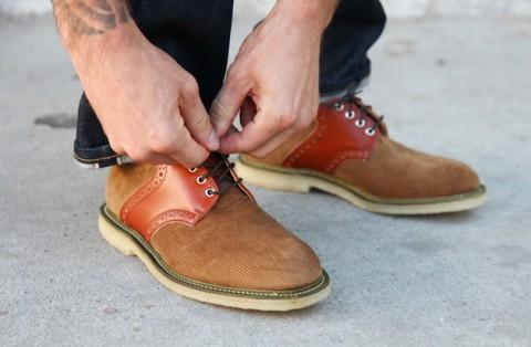 Mark McNairy Corduroy Saddle Shoe