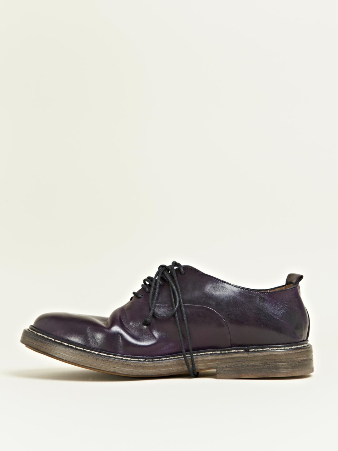 Marsell Petrolio Oxford Shoes