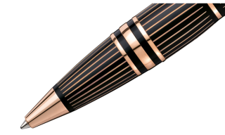 Montblanc – Starwalker Red Gold-Plated Pen Collection