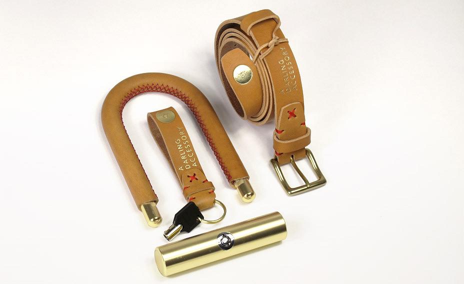 Deutsche & Japaner A D A Bike Lock & Key Chain