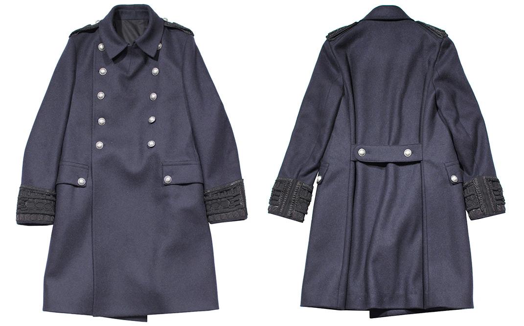 Balmain Double Breasted Army Jacket