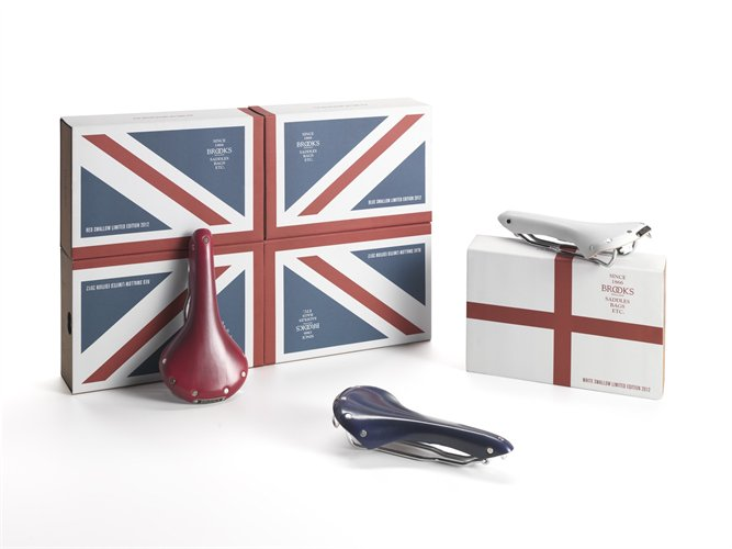 Brooks Saddles Union Jack Sparrow Collection for Olympics
