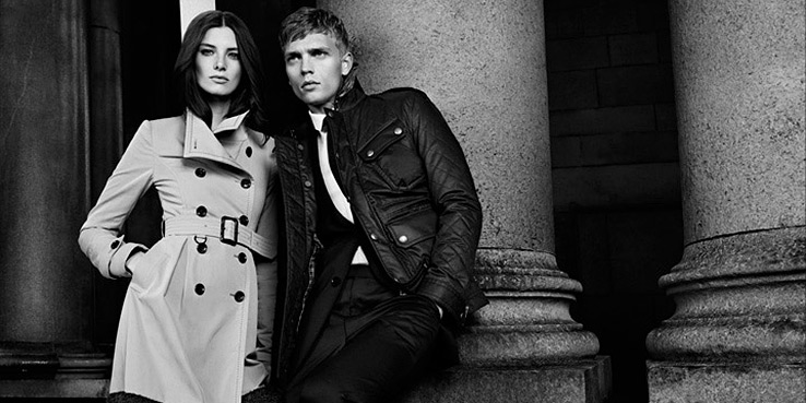 Burberry Black Label Fall Winter 2012 Campaign