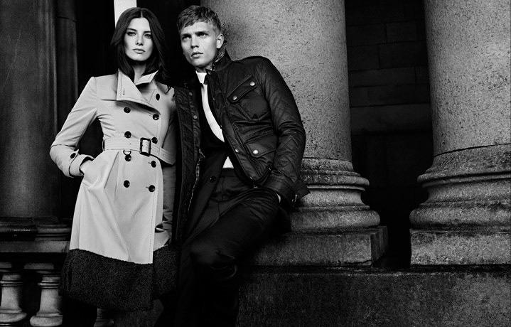 Burberry Black Label Fall Winter 2012 Campaign