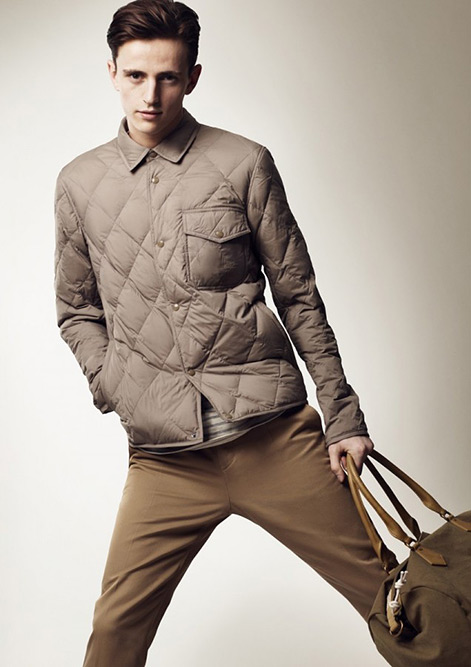 The new Burberry Brit Collection for Spring Summer 2013