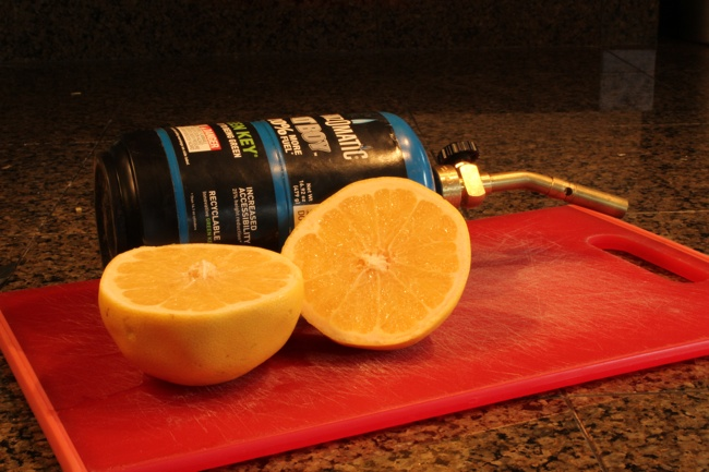 Chile Grapefruit Brulee