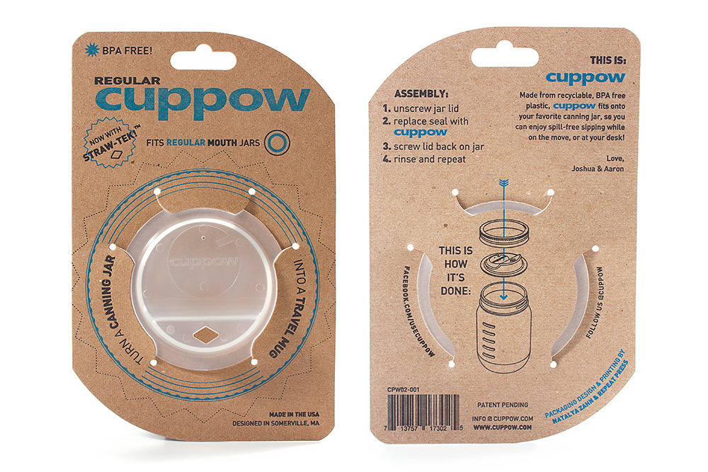 Cuppow - New Regular Mouth Jar Edition