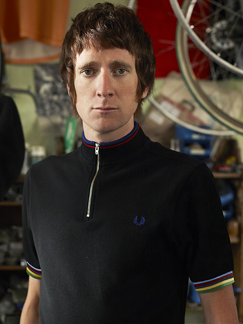 Fred Perry - Bradley Wiggins Cycling Shirts