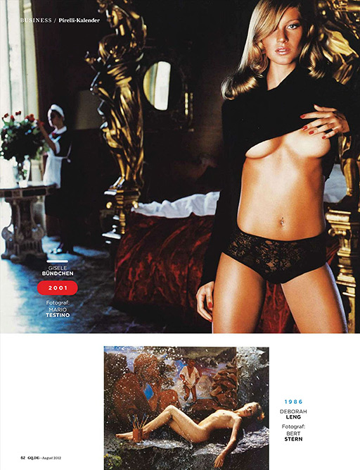Rosie Huntington-Whiteley – GQ Germany August 2012