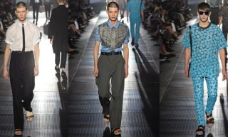 Lanvin Spring 2013 Collection – Blade Runway