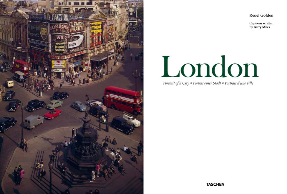 """London. Portrait of a City"" Photography Book"