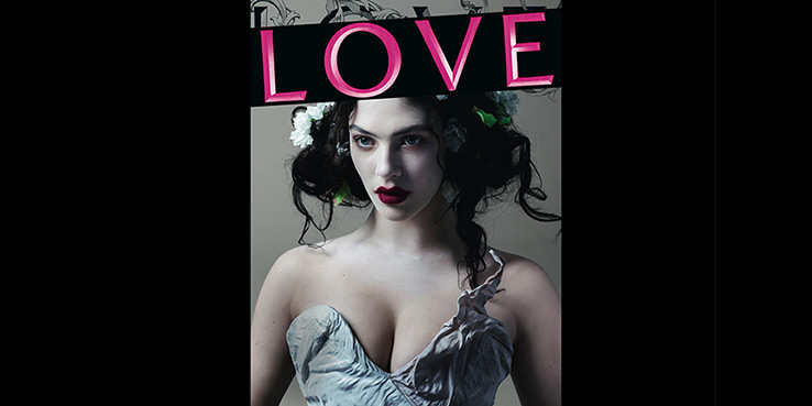 Women of Downton Abbey Cover LOVE Magazine #8