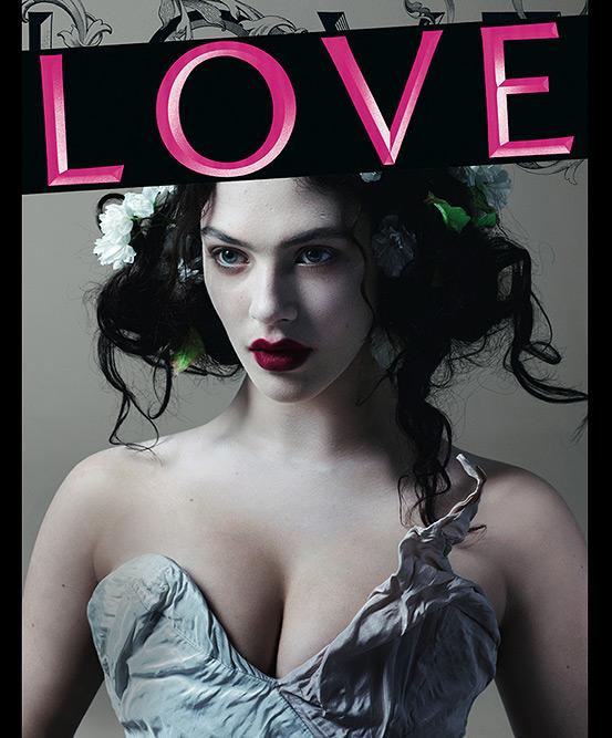 Women of Downton Abbey Cover LOVE Magazine #8