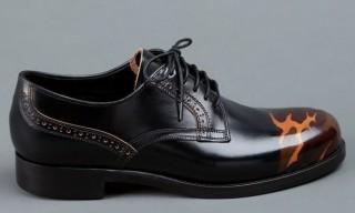 Mihara Yasuhiro Camouflage Detail Shoe