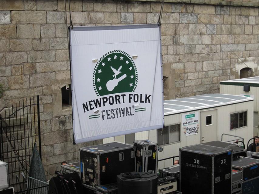 Newport Folk Festival 2012 - Photos and Faces