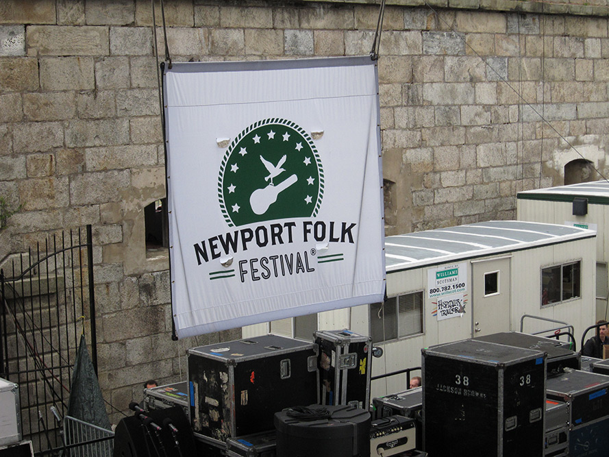 Newport Folk Festival 2012 - Photos and Faces