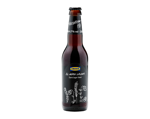 Ikea Launch 4.7% Dark Beer   Öl Mörk