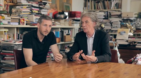Paul Smith & artist Charming Baker discuss their Cycling Inspired Sculpture