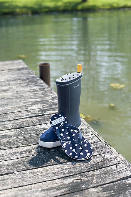 Tretorn for Newport Folk Festival - Flip-Flops and Galoshes