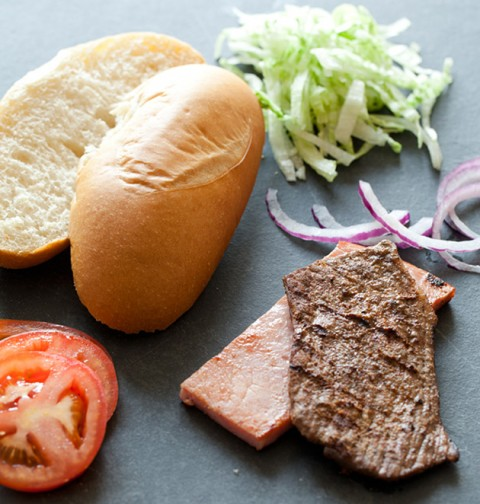Recipe - Uruguayan Steak Sandwich